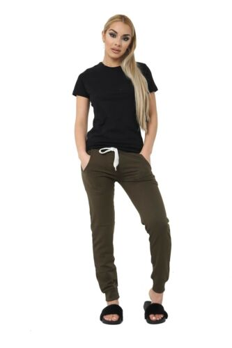 Womens Joggers Trousers Ladies Tracksuit Bottoms Jogging Gym Pants Lounge Wear
