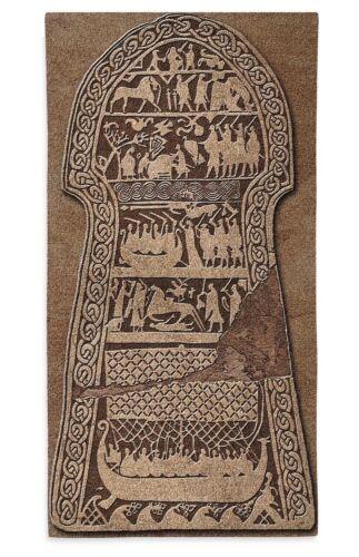 Stora Hammar Viking Runestone Norse Mythology Medieval Woven Tapestry 50L