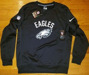5cd3d58a Image is loading WOW-NIKE-Philadelphia-EAGLES-Thermafit-Crew-mens-L-