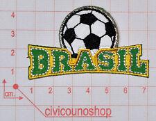 Toppe Patch Termoadesive - Toppa scritta Brasil - Mondiali Brasile 2014