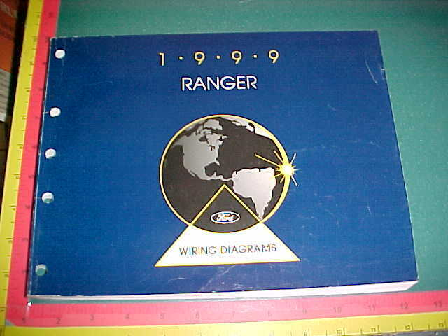 1999 FORD RANGER TRUCK WIRING DIAGRAMS SERVICE MANUAL very ...