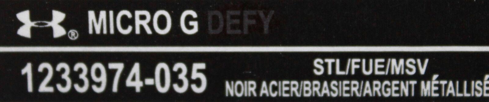 New Mens Mens Mens Micro G Defy  Running schuhe Größe 10 Style   1233974-035 faacb5