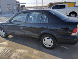 1999 Toyota Tercel . Only 99,000 kms . CERTIFIED !