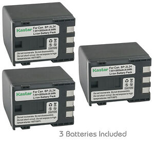 Kastar Replacement Battery for Canon BP-808 CG-800 Can