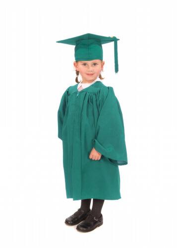 Mate Niños Guardería Graduación Vestido y Gorro