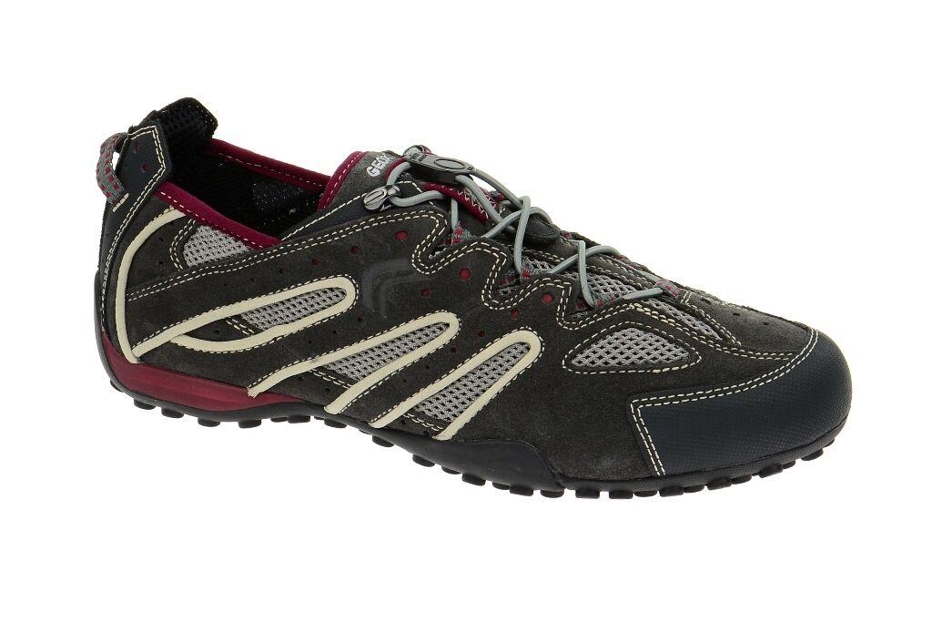 Geox Schuhe SNAKE grau Herrenschuhe Sneakers U4207J 02214 C9F7W NEU