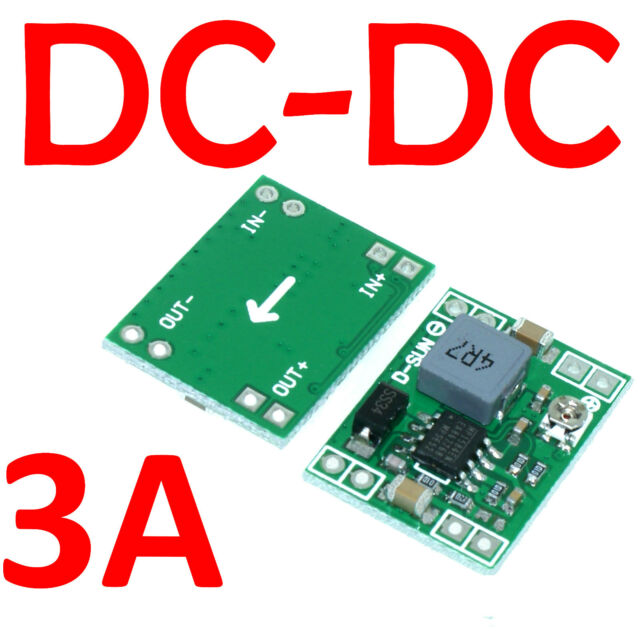 Mini 3A DC-DC Adjustable Converter Step down Power Supply Module replace LM2596