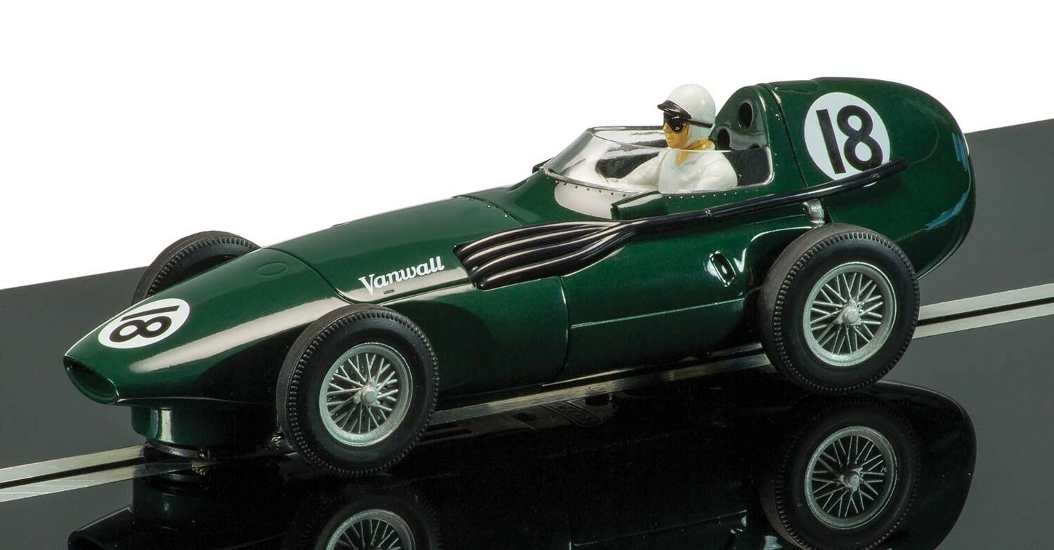 Scalextric C3404A Legends Vanwall Limited Edition 2500