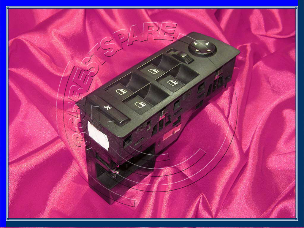 BMW E53 X5/'ies RHD DRIVER DOOR FOLDING MIRROR WINDOW LIFTER SWITCH UNIT 6944555