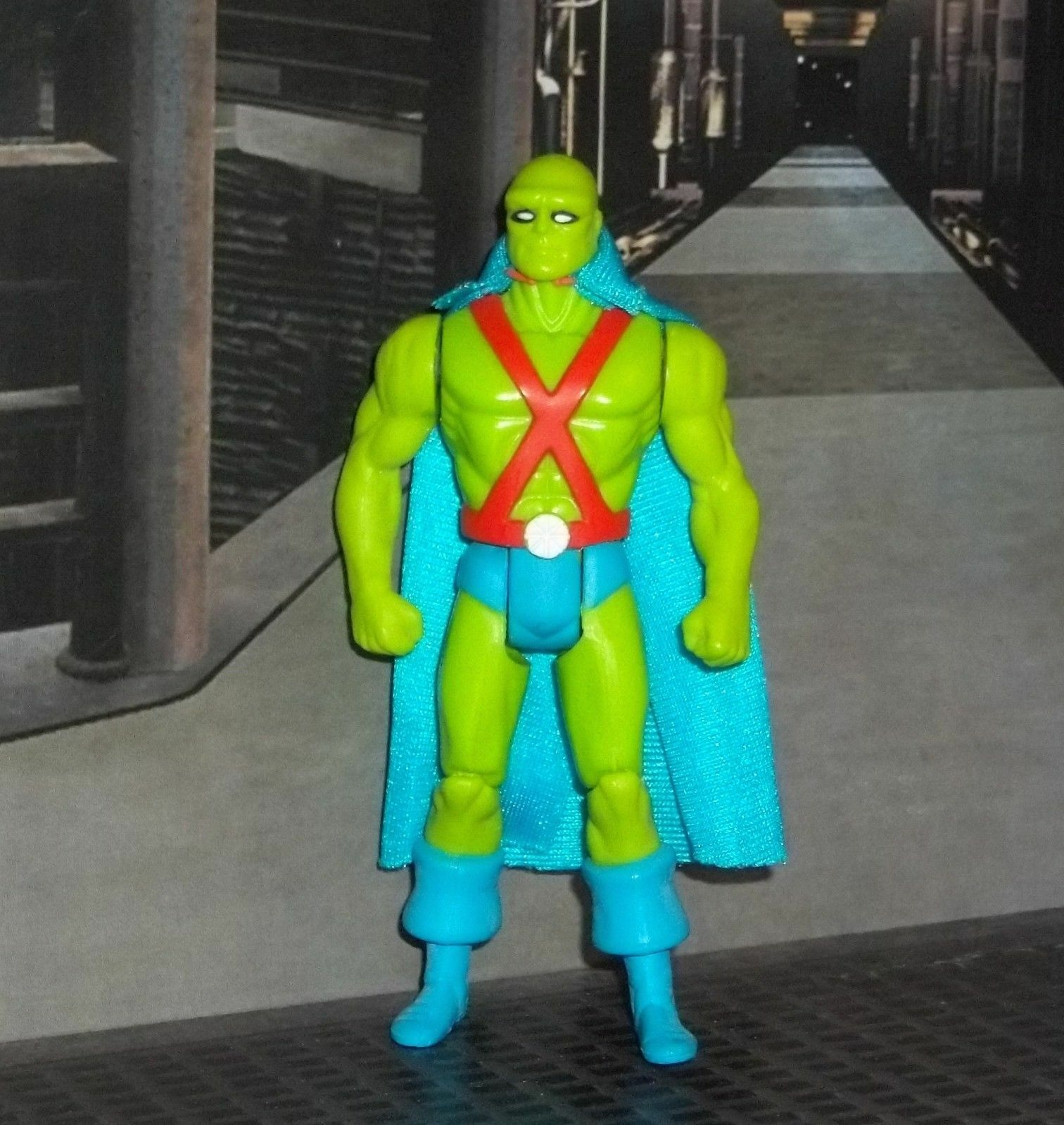 DC SUPER energiaS SERIES JLA MARTIAN uomoHUNTER cifra   KENNER W autoD & COMIC  negozio di sconto
