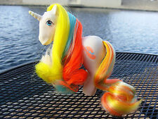 Tef: VTG G1 MY LITTLE PONY BRUSH N GROW UNICORN BOUQUET SUPERB VIBRANT HAIR