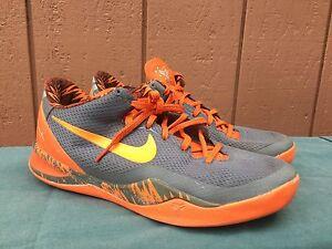 f76487ca6f13 RARE Nike Kobe VIII 8 PP Philippines Pack Cool Wolf Gray Orange US ...