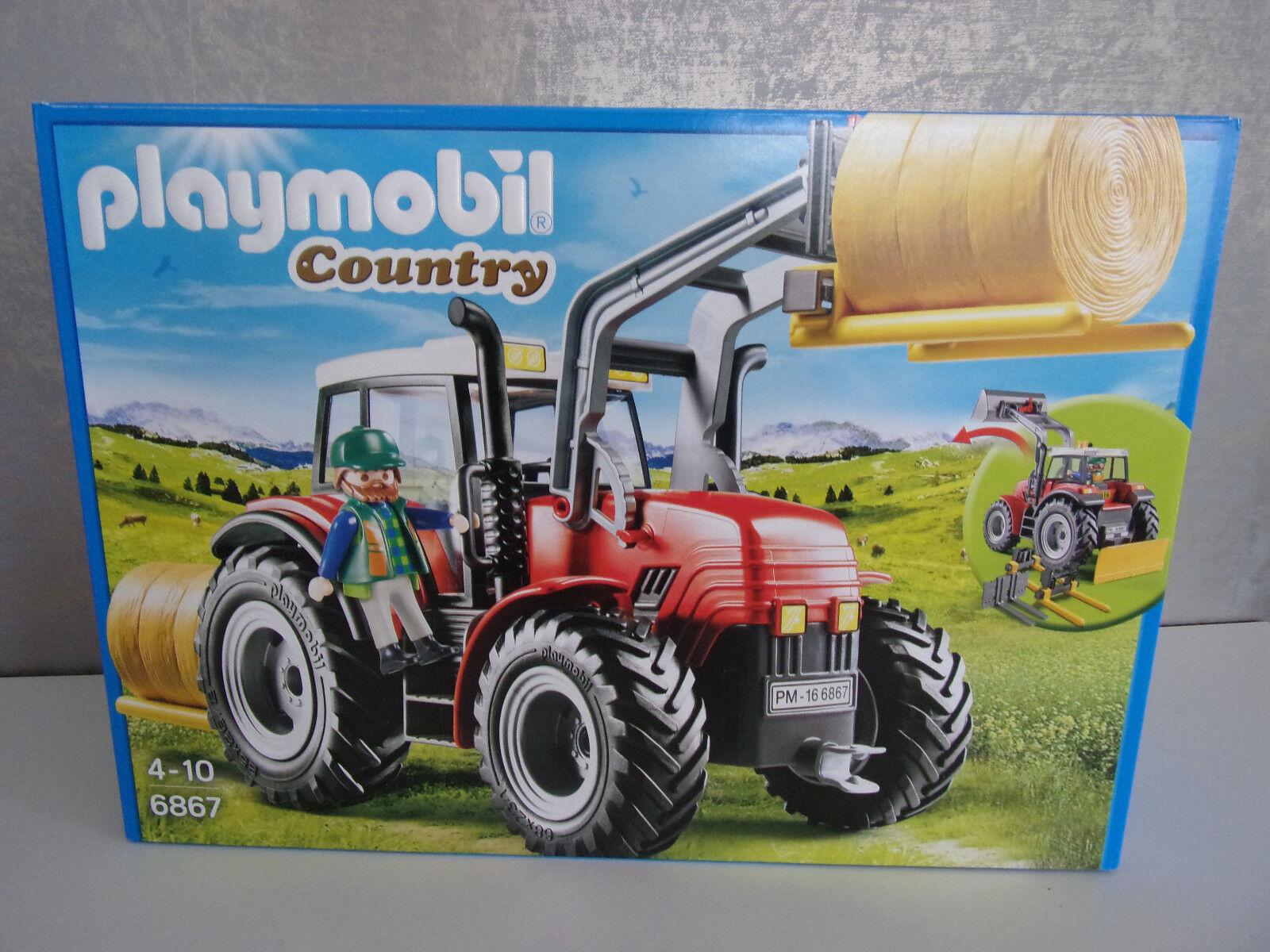 Playmobil Country 6867 Riesentraktor avec Spezialwerkzeugen -