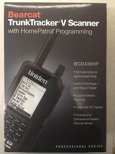 Details about NEW* UNIDEN BCD436HP P-25 PHASE I & II TDMA DIGITAL SCANNER  Free Cable&Software