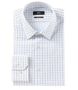 HUGO-BOSS-ENZO-US-BLACK-LABEL-DRESS-SHIRT-REGULAR-FIT-POINT-COLLAR-WHITE-NWT