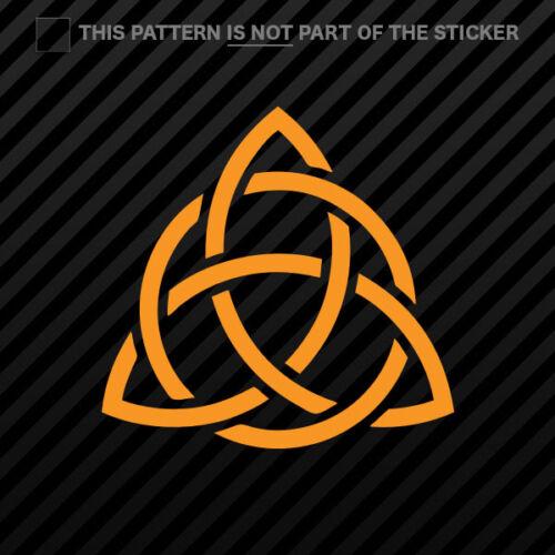 Triquetra Sticker Self Adhesive Vinyl #2 paganism 2x