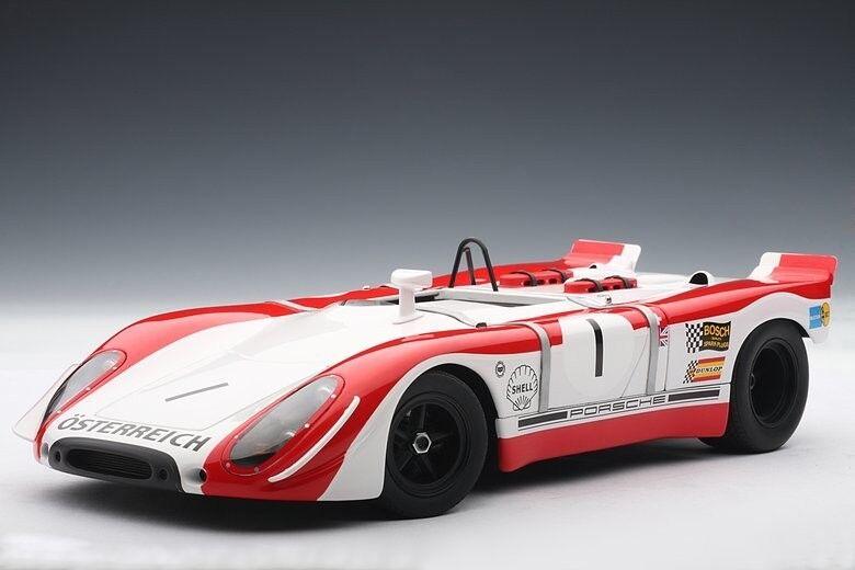 PORSCHE 908 2 908 Watkins Glen WINNER 1969  1 rossoman MAMMOLO Autoart 1 18