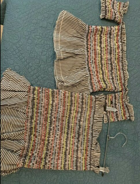 Seed Heritage Multi-coloured Top And Skirt Set Size 8 (S)
