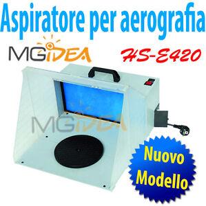 aspiratore per aerografia aerografo cabina ventola verniciatura con