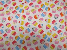 Cupcake in policotone stampa Craft/Vestito in Tessuto 112cm Ampia Venduto al Metro