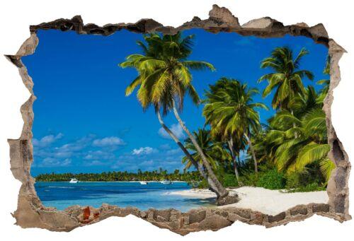 Stickers 3D Trompe l/'oeil Tropiques réf 23299 23299 Art déco Stickers