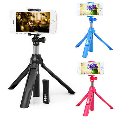 Rechargeable Bluetooth Selfie Stick Extendable Monopod Tripod for Samsung Huawei