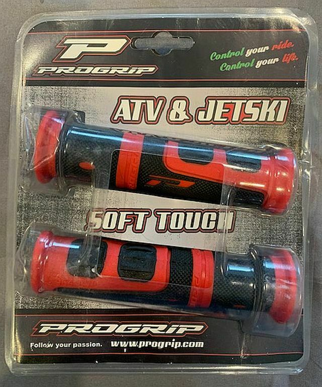 Progrip 7//8 handlebar grips Yamaha Banshee yfz450 yfz 450 Yamaha ATV 3pics G1