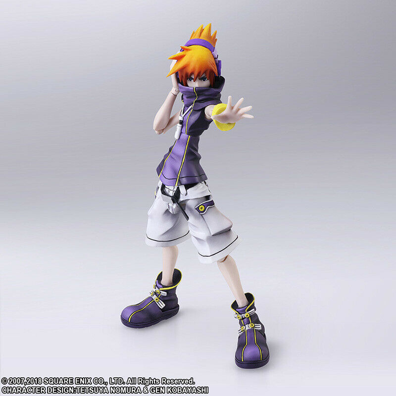 The world end w you final remix  neku action figure square enix  promotions promotionnelles