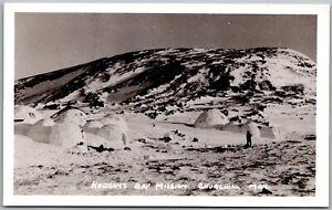 Hudson-039-s-Bay-Mission-Churchill-Manitoba-Canada-RPPC-Real-Photo-Postcard-C6