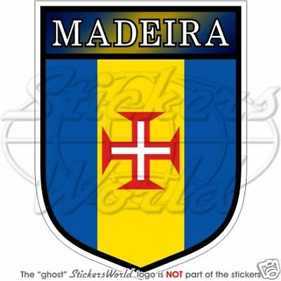 MADEIRA ISLAND Coat of Arms Portugal Decal Portuguese Vinyl Bumper Sticker