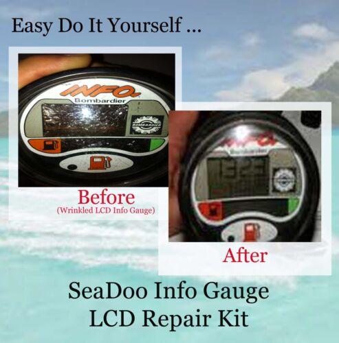 Older SeaDoo Multi function Gauge Repair
