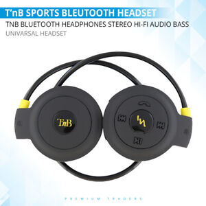 Wireless Bluetooth Bass Boosted Headset Stereo Headphones For Samsung Iphone Uk Ebay