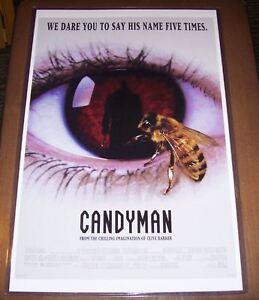 Candyman Clive Barker 11x17 Original Movie Poster Tony Todd Ebay