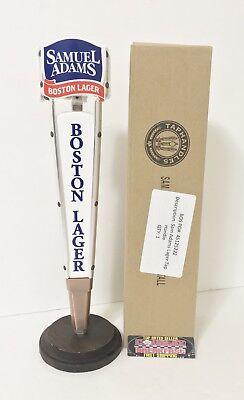 "Brand New In Box! Samuel Sam Adams Boston Lager Logo Beer Tap Handle 13"" Tall"