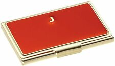 Kate Spade One In A Million Initial Business Card Holder Red Initial J