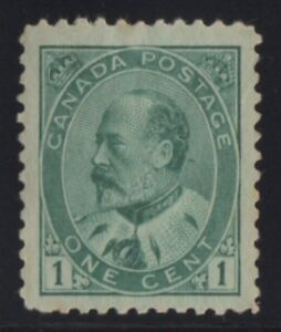 MOTON114-89-Edward-VII-1c-Canada-mint-well-centered