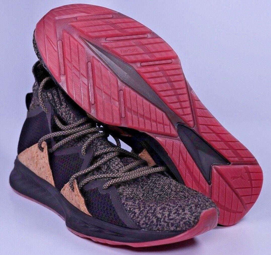 Puma Ignite ola zapatillas evoknit Hombre Negro corcho zapatillas ola de entrenamiento comodo Wild Casual Shoes edc1a6