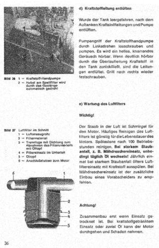 Instrucciones de funcionamiento 14-013 Manual de usuario de Schl-ter en lo que es manual de la aplicación Remolco diésel S 450