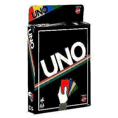 Mattel Uno Card Game Retro Edition Dhw43 For Sale Online Ebay