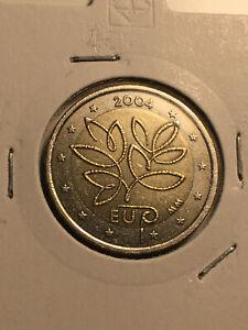 2 EURO FINLANDE 2004 ELARGISSEMENT UE COMMEMORATIVE CIRCULEE RARE