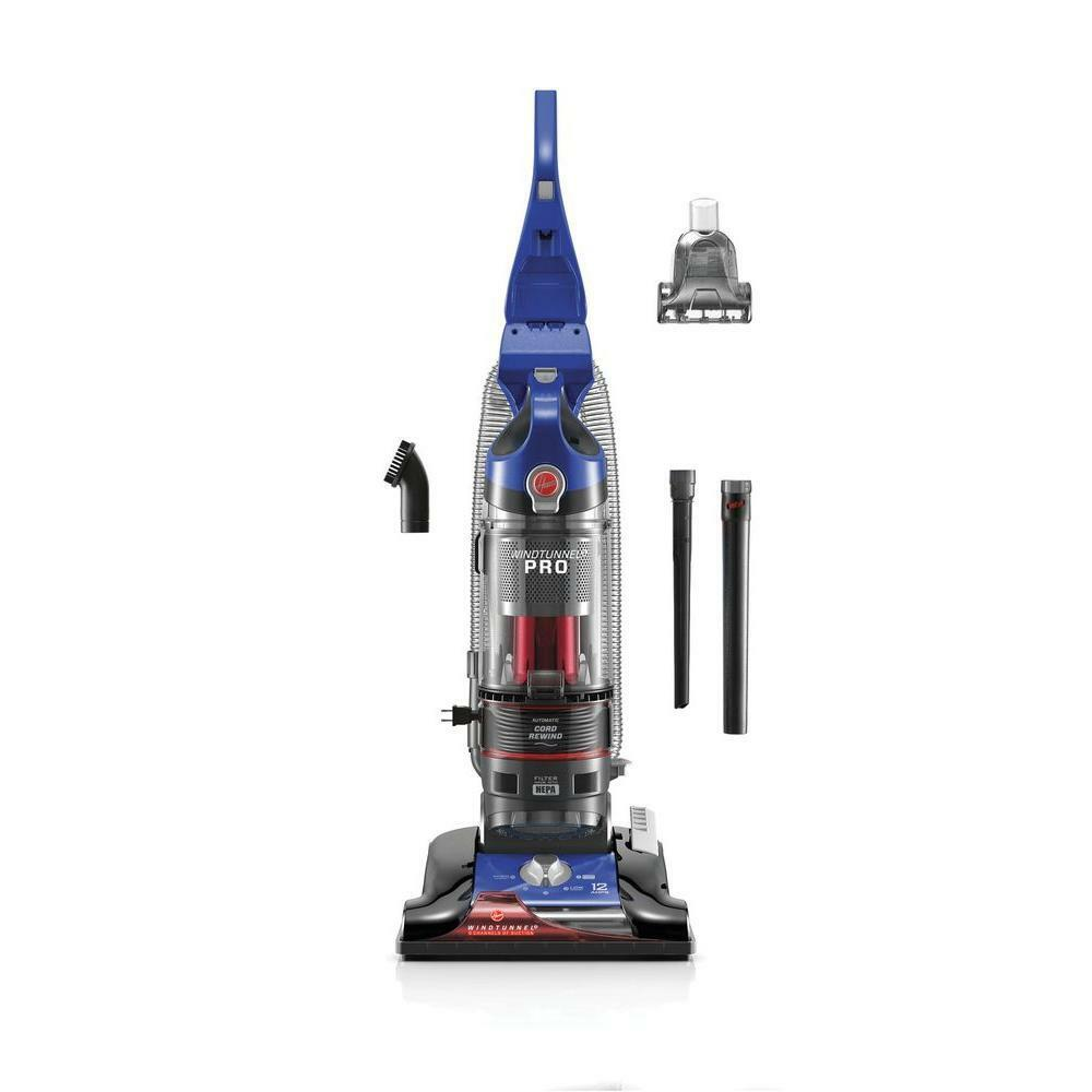 HOOVER UH70905 WINDTUNNEL 3 PRO BAGLESS UPRIGHT VACUUM CLEANER blueeeE NEW