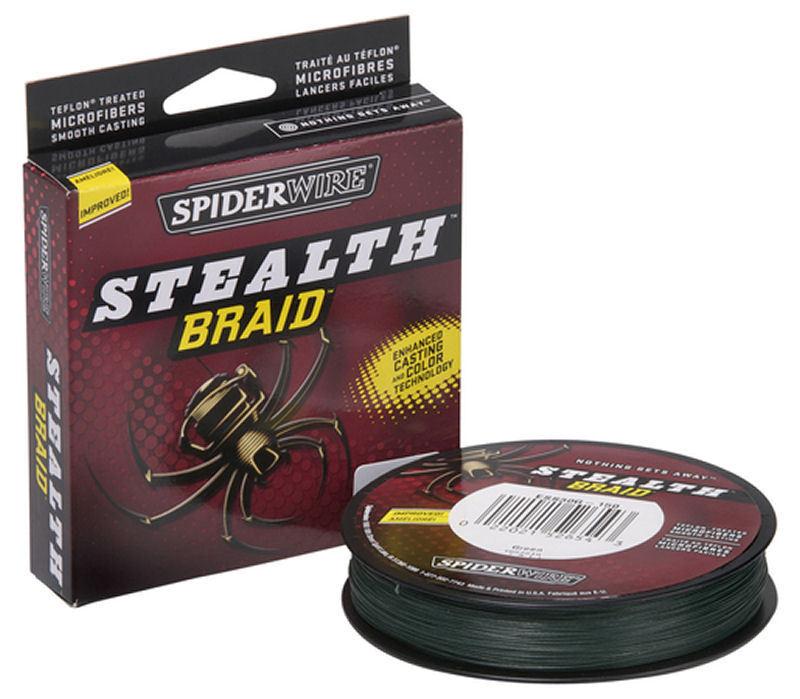 Spiderwire Stealth Braid 125 300 Yards