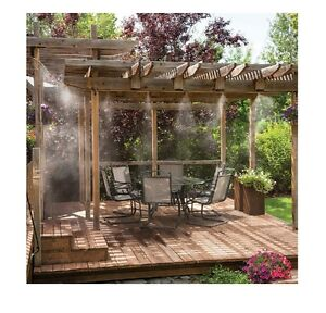 Image Is Loading Misting System Patio Deck Porch Outdoor Cooling Mister