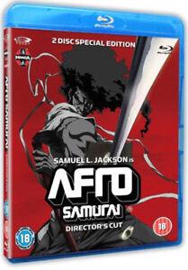 Afro-Samurai-Del-Regista-Taglio-Blu-Ray-Nuovo-MANGB8007