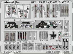 Eduard-PE-73652-1-72-Sukhoi-Su-27UB-detail-set-Zvezda