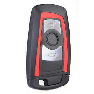 COVER-CHIAVE-GUSCIO-BMW-3-TASTI-TELECOMANDO-SERIE-F-1-3-5-7-X1-X3-X5-X6-rosso