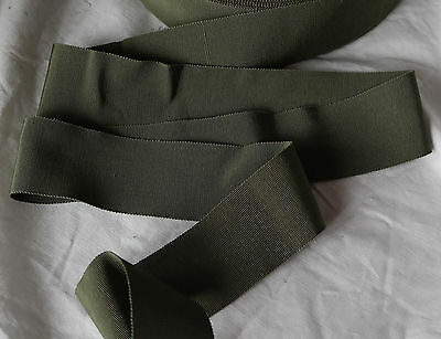 "10 yard 5//8/"" blue vintage cotton rayon petersham grosgrain ribbon millinery hat"
