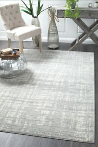 MIRANDA-354-SILVER-Grey-Modern-Rug-Large-Floor-Mat-Carpet-FREE-DELIVERY
