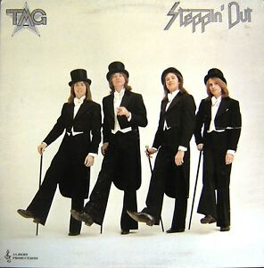 TED-MULRY-GANG-STEPPIN-OUT-LP-1976-Albert-Productions-Oz-issue-G-Fold-APLP-021