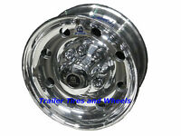 17.5 8 Lug Alcoa Polished Hd Aluminum Trailer Wheel 661401 For 5/8 Studs